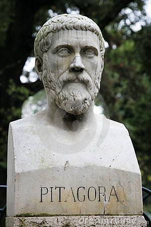 Free Sculpture Of Pythagoras Royalty Free Stock Photography - 7802757