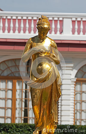 Sculpture in Peterhof