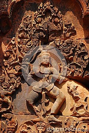 Sculpture sand stone , Siem Reap, Cambodia