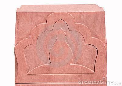 The Sculpture sandstone of pattern india