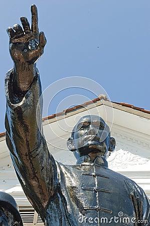 Sculpture of Sun Yat-sen Editorial Photography