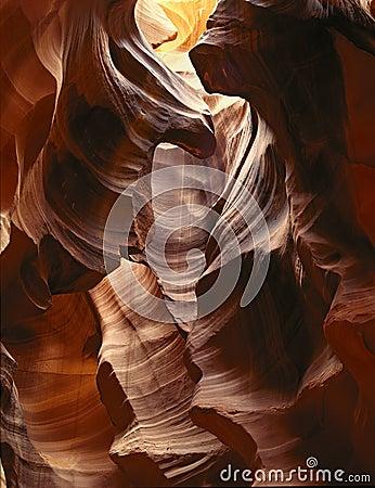 Sculptured Desert Canyon
