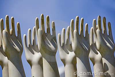 Sculptured Hands