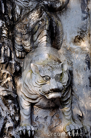 Sculptured Tiger