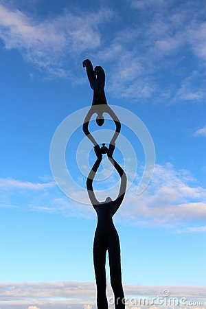Free Sculptures By The Sea Cottesloe Beach Perth Royalty Free Stock Image - 51837266