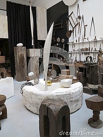 Atelier Brancusi Image éditorial