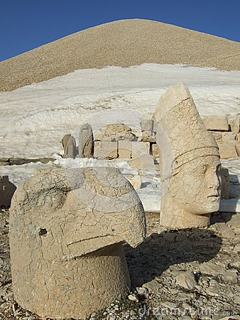 Sculptures of Mount Nemrut, Turkey