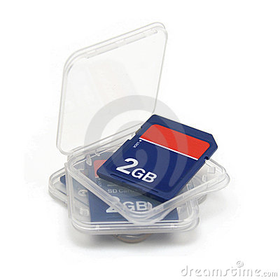 Free SD Memory Card Royalty Free Stock Photo - 6903025