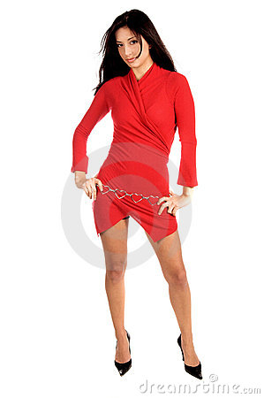 Señora In Red