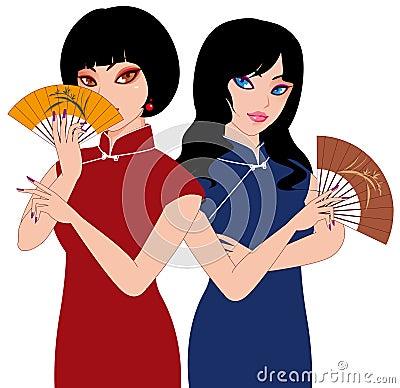 Señoras chinas
