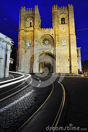 Se Cathedral Lisbon Portugal