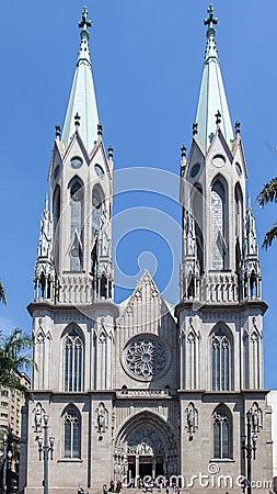 Se Cathedral Sao Paulo Brazil