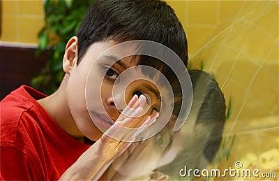 Se för blickexponeringsglas