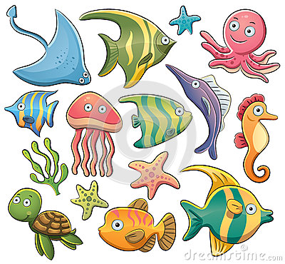 Free Sea Animals Stock Photography - 25257802