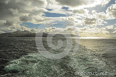 SEA AROUND CAPE HORN