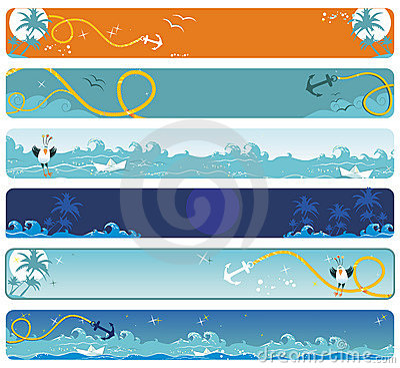 Sea banners