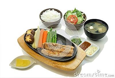 Sea Bass Steak Set