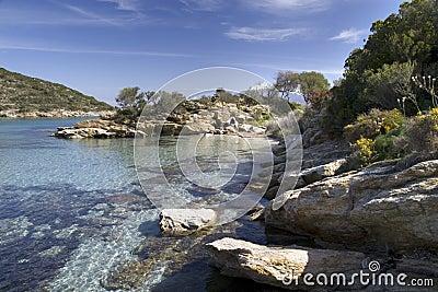 Sea bay, Corsica