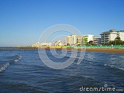 Sea, beach and hotels