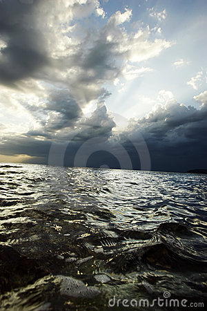 Free Sea Before The Storm Stock Images - 2681244