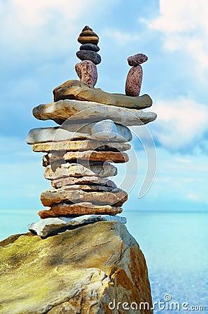 Sea boulder