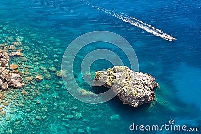 Sea in Capri