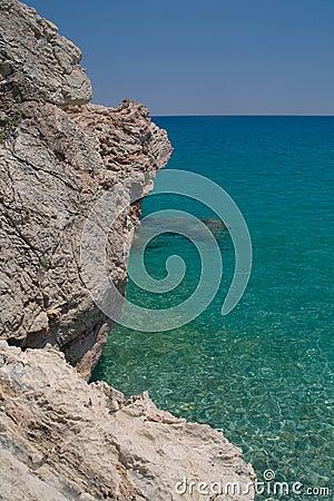 Sea coast,Turkey.
