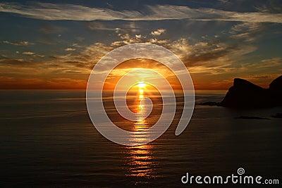 Sea of Cortez Sunset