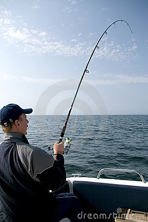 Free Sea Fishing. Stock Image - 2494711