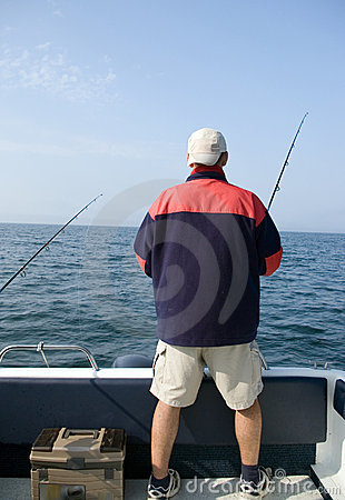 Free Sea Fishing. Stock Photo - 2494730