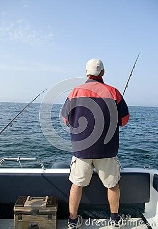 Sea fishing.