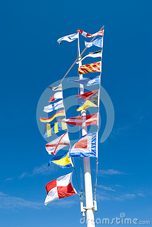 Sea flags