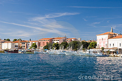 Sea-front of Porec