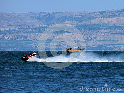 Sea of Galilee Editorial Image