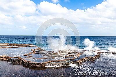 Sea geysers