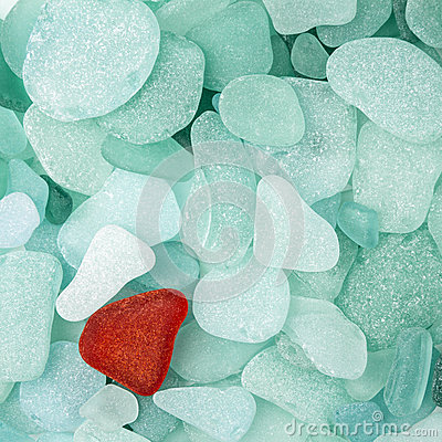 Free Sea Glass Background Stock Photo - 28692440