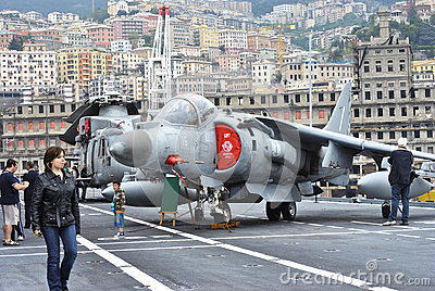 Sea Harrier Editorial Stock Image
