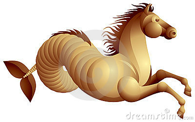 Sea horse, hippocamp