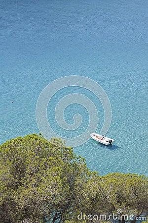 Sea island of Elba