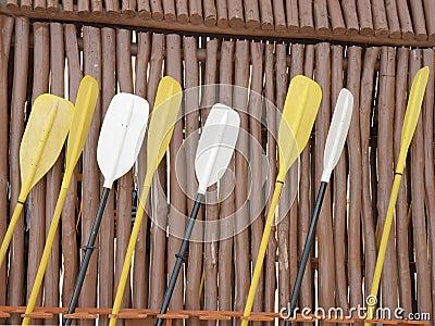 Sea kayak paddles