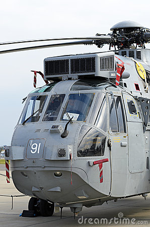 Sea King ASaC.7 Editorial Stock Image