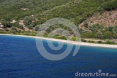 Sea of Lefkada, Meganissi, Greece