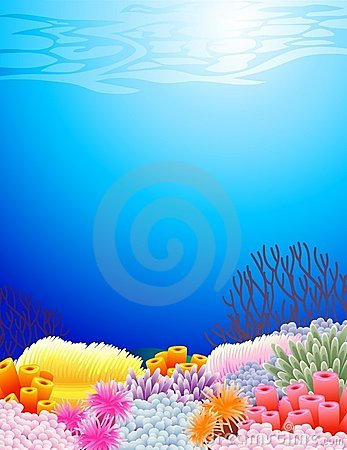 Sea life background