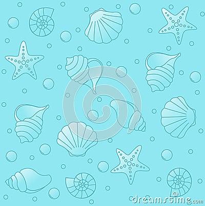 Free Sea Life Pattern Stock Photos - 12221193