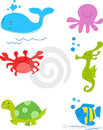 Sea Life Sweeties