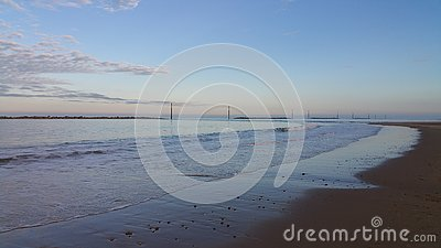 Sea Palling Stock Photo