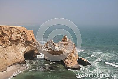 Sea park Paracas in Peru