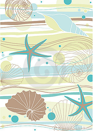 Free Sea Pattern Stock Image - 10203001