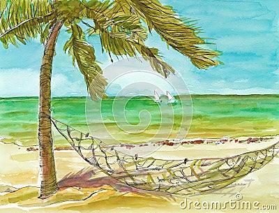 The sea picture