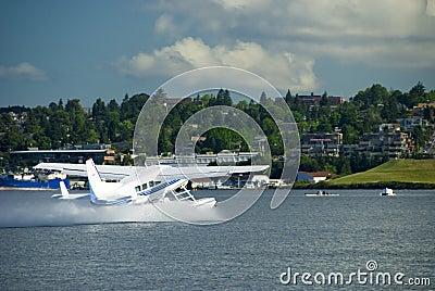 Sea Plane Take Off